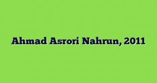 Ahmad Asrori Nahrun