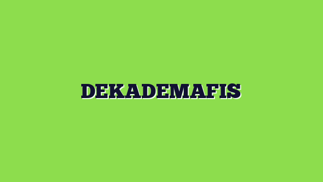 DEKADEMAFIS
