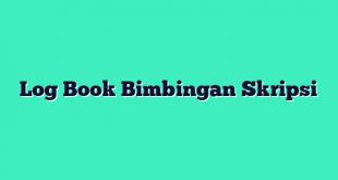 Log Book Bimbingan Skripsi