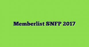 Memberlist SNFP 2017