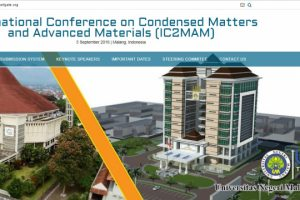 International Conference on Condensed Matters and Advanced Materials (IC2MAM) 2018