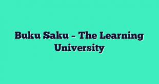 Buku Saku – The Learning University