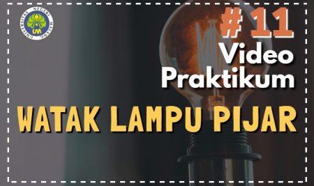 Watak Lampu Pijar