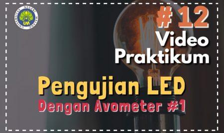 Pengujian LED