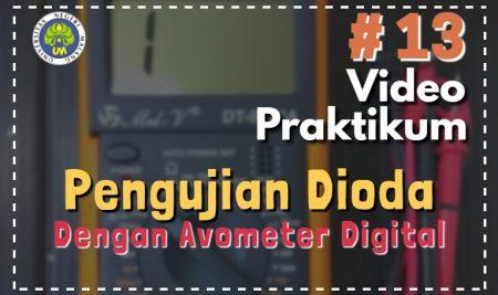 Pengujian Dioda dengan Avo Digital