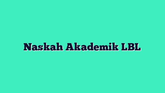 Naskah Akademik LBL